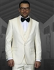 Statement - SH Solid Off White Tuxedo