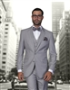 Statement Solid Grey Suit Modern Fit