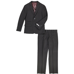 Boy's American Exchange Black Suit