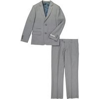 Boy's American Exchange Charcoal Suit
