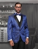 Statement Bellagio Vested Blue Tuxedo