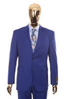 Vitale Barberis | Modern 2-Piece Peak New Blue Suit