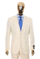 Vitale Barberis | Modern 2-Piece Peak Cream Suit