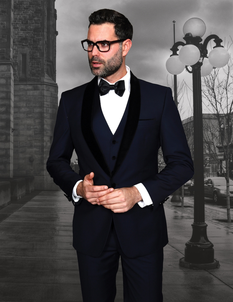 ca920e35 ... 3-Piece Modern Tuxedo Suit · Larger Photo ...