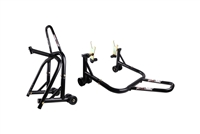 Black Front & Triple Tree Motorcycle Stand V uni