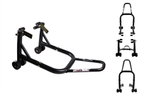 Black Front Motorcycle Stand V