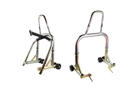 T-Rex Racing Gold Front & Rear & Triple Tree Motorcycle Stand V