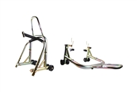 Gold Front & Rear & Triple Tree Motorcycle Stand V Universal (F4, F4i, YZF600R, non-spooled)
