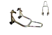 T-Rex Racing Gold Front Motorcycle Stand V