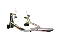 Gold Rear Motorcycle Stand V Universal (F4, F4i, YZF600R, non-spooled)