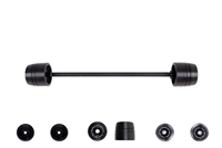 Triumph Daytona 675 / R / Speed Triple / Street Triple Front Axle Sliders