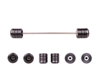 2008 - 2019 Yamaha WR250R / WR250X Front Axle Sliders