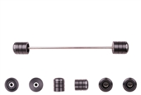2008 - 2016 Yamaha WR250R / WR250X Rear Axle Sliders