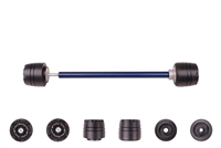 2012 - 2015 Yamaha WR450F Front Axle Sliders