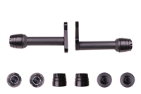 2000 - 2016 Suzuki DR-Z400 E / S / SM No Cut Frame Sliders