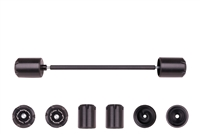T-Rex 2000 - 2017 Suzuki DR-Z400 E / S / SM Rear Axle Sliders