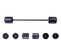 1996 - 2018 Suzuki DR650 / S / SE Rear Axle Sliders