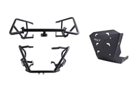 T-Rex Racing 2010 - 2019 Triumph Tiger 800 XR / XRx / low XRt / XC / XCx / XCA Engine Guard Crash Cages Skid Plate Combo