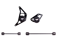 T-Rex Racing 2008 - 2010 Buell XB9 / XB12 No Cut Frame Front & Rear Axle Sliders