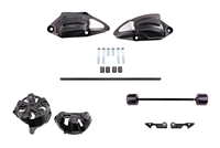 T-Rex Racing 2013 - 2016 Kawasaki Z800 No Cut Frame Front Axle Sliders Case Covers Spools
