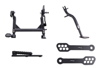 T-Rex Racing 2008 - 2019 Kawasaki KLR650 Adjustable Center Stand Kickstand Lowering Link & Grab Bar