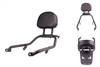 T-Rex Racing 2018 - 2020 Honda Rebel 300 / 500 Back Rest & Grab Bar Luggage Rack