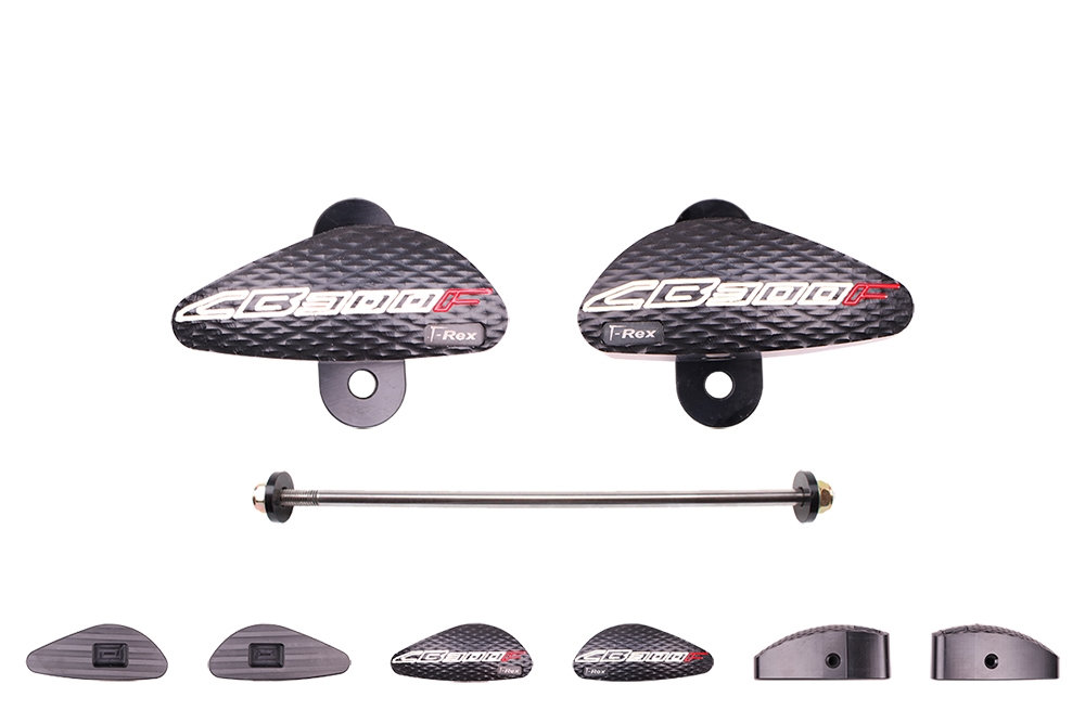 2015 - 2017 Honda CB300F No Cut Frame Sliders