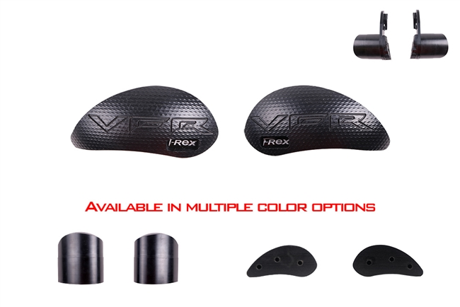 T-Rex Racing 2010 - 2017 Honda VFR1200F DCT / Non DCT No Cut Frame Sliders