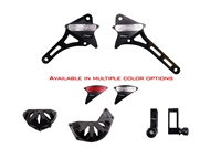 2013 - 2015 Honda CBR500R No Cut Frame Sliders Case Cover Spools