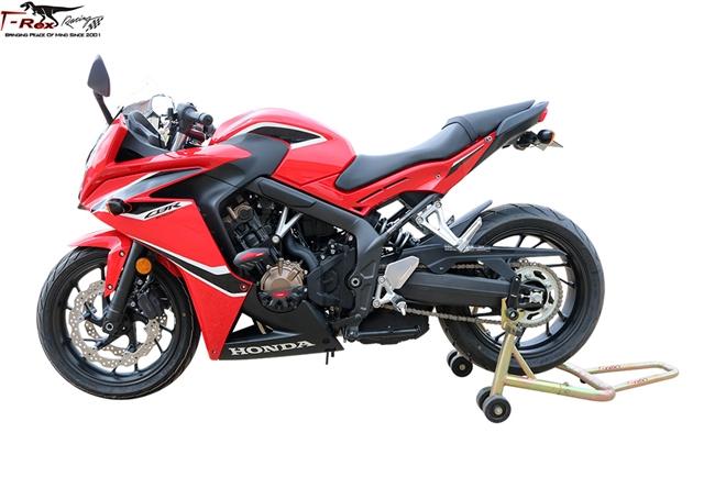 Lorababer Moto Asse Anteriore Forcella Crash Slider per Honda CB650R CBR650R CB650F CBR650F 2014 2015 2016 2017 2018 2019 2020 Protezione ruota moto