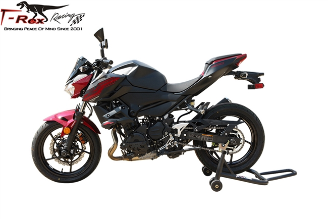 ROWEQPP Motorcycle Radiator Grille Guard for Kawasaki Ninja 400 Black
