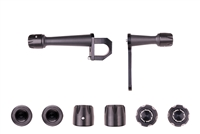 2008 - 2014 Suzuki GSX650F No Cut Frame Sliders