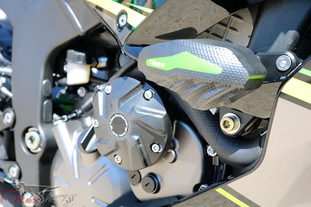 No Cut Frame Slider Protector For Kawasaki ZX6R//9R//12R Street 1998-2005 Delrin