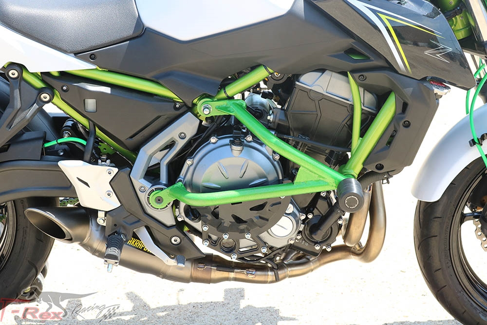 2017 - 2019 Kawasaki Z650 Engine Guard Crash Cages
