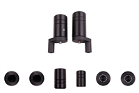 1999 - 2005 Kawasaki ZRX1100 / ZRX1200R No Cut Frame Sliders