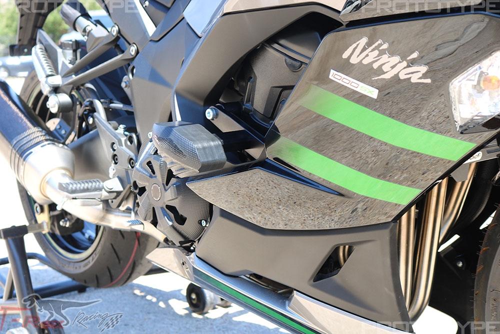 2017 - 2018 Kawasaki Ninja 1000 No Cut Frame Sliders