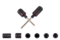T-Rex Racing 2007 - 2009 Kawasaki Z750 / Z1000 No Cut Frame Sliders