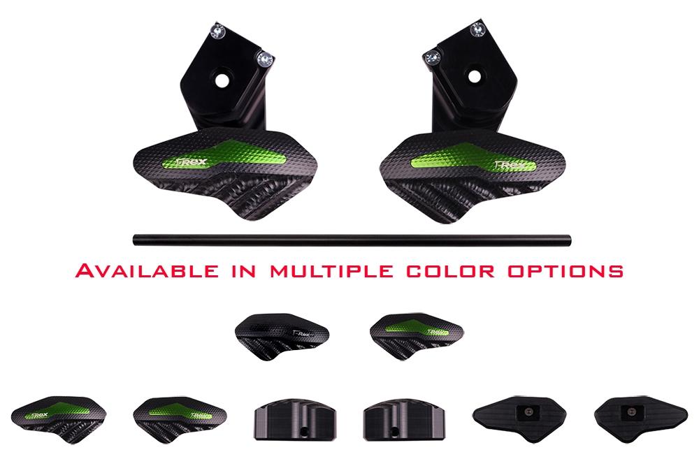 2015 - 2017 Kawasaki Ninja H2 H2R No Cut Frame Sliders