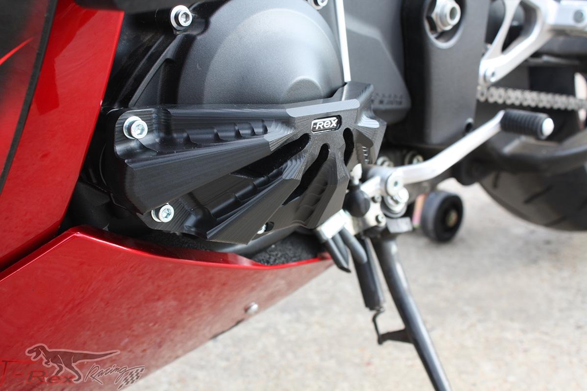 Yamaha R1 Heel Guards 2009-2014 Red
