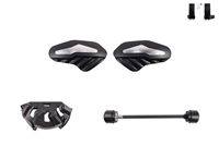 T-Rex Racing 2013 - 2019 Yamaha FJR1300 / A / AE / ES No Cut Frame Front Axle Sliders Case Covers