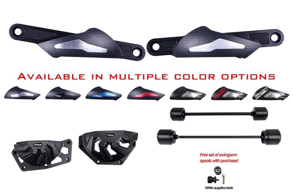 T-Rex Racing Rear Axle Sliders for Yamaha 2013-2019 FZ-07 MT-07