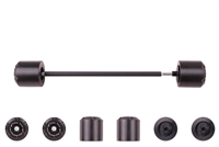 T-Rex Racing 2013 - 2020 Yamaha FZ-07 / MT-07 / XSR700 Front Axle Sliders