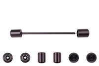2013 - 2017 Yamaha FZ-07 MT-07 Rear Axle Sliders