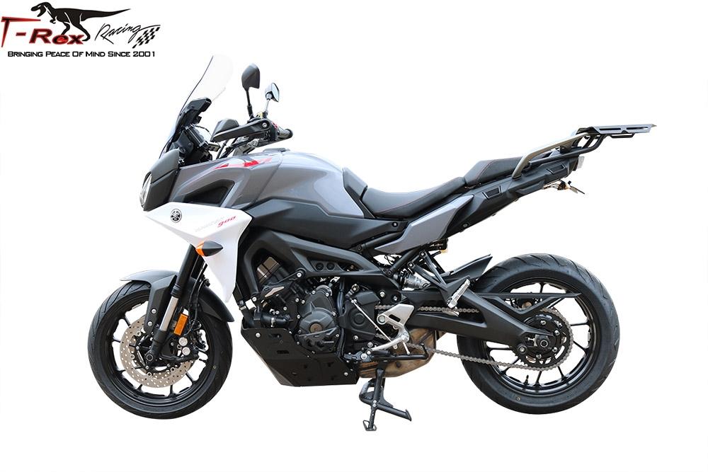 NEW 2014-2015 GENUINE GYTR YAMAHA FZ-09 BLACK ALUMINUM REAR LUGGAGE RACK