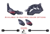 T-Rex Racing 2013 - 2015 Ducati Panigale 899 / S No Cut Frame Front & Rear Axle Sliders Spools