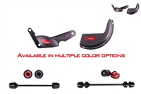 T-Rex Racing 2015 - 2018 Ducati Panigale 1299 / S / R No Cut Frame Front & Rear Axle Sliders