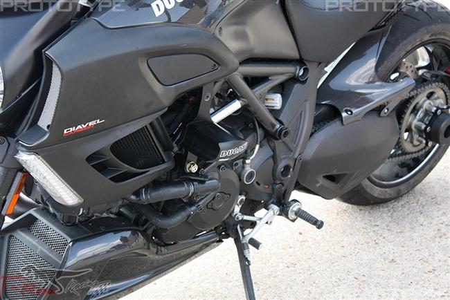 for 11-16 Ducati DIAVEL No Modification Vortex V3 2.0 Frame Slider Kit