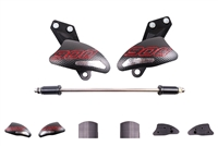 T-Rex Racing Aprilia Dorsoduro 900 / Shiver 900 No Cut Frame Sliders