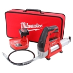 Milwaukee 2446-21XC  M12 12V Li-Ion Grease Gun Kit with XC Battery