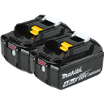 18V LXT® Lithium-Ion 4.0Ah Battery, 2/pk